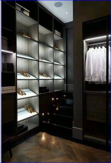 Application image for Wardrobe lighting