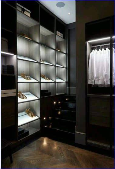 Application image for Wardrobe lighting