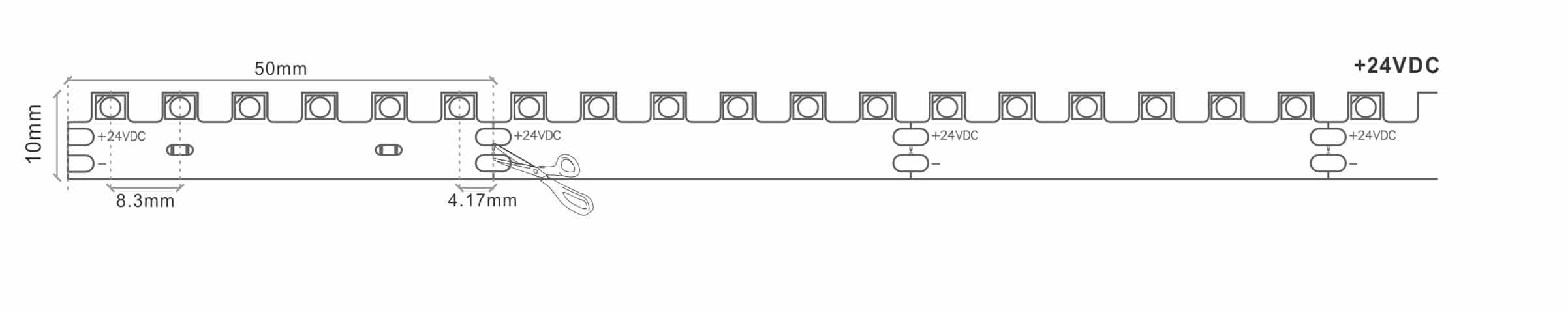 3D Bendable LED Tape Strip Light
