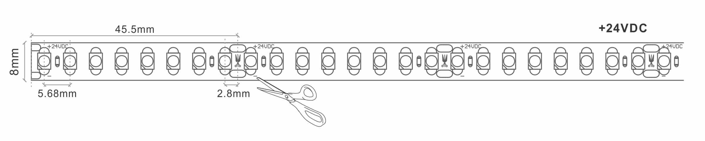 Economy LED Strip Tape Light