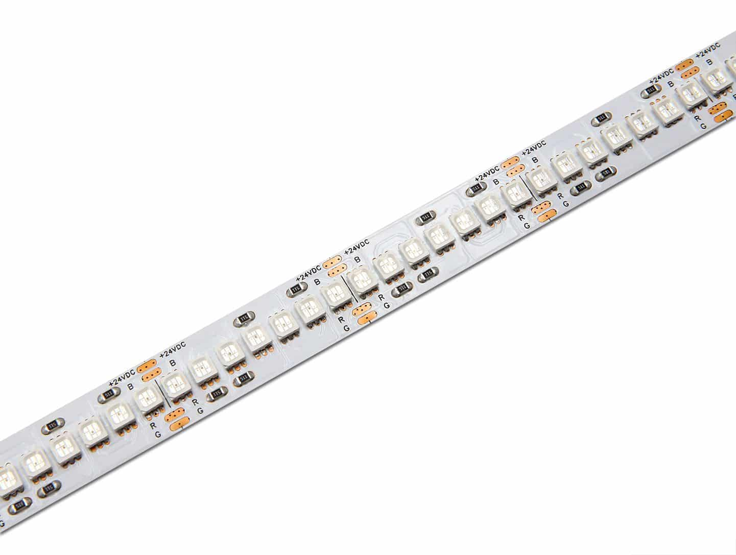 RGB LED strip light SMD 3535 chip with 224 LEDs/m