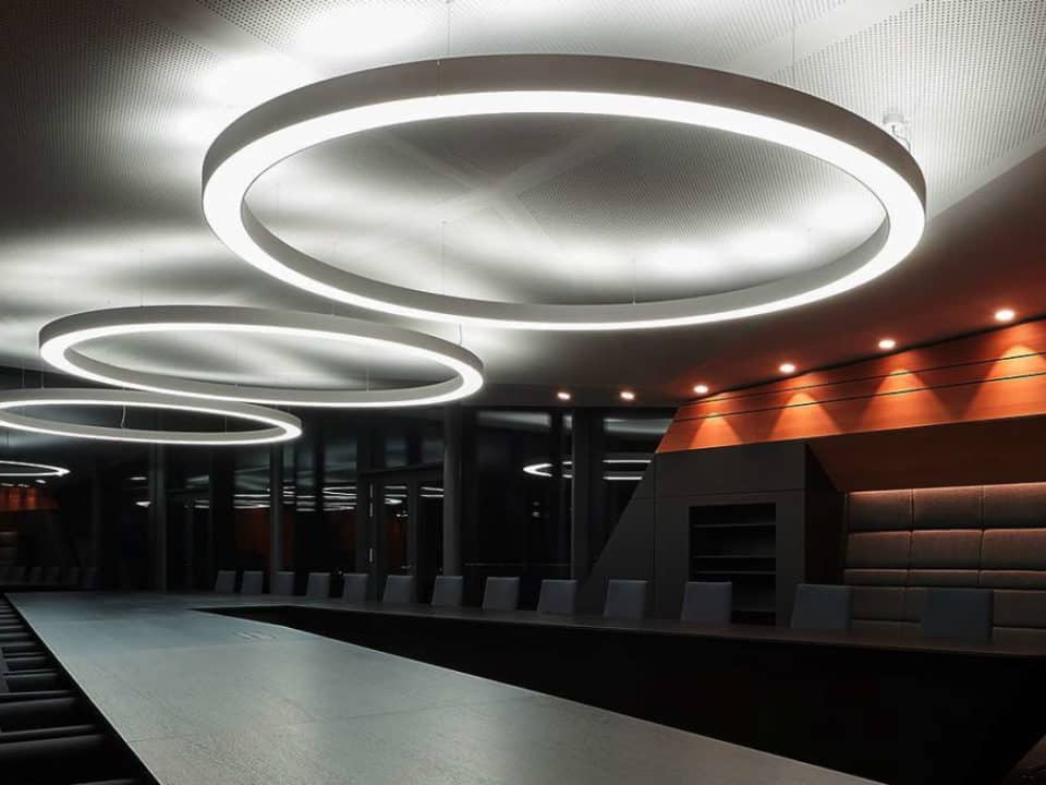 Circular Linear Lighting