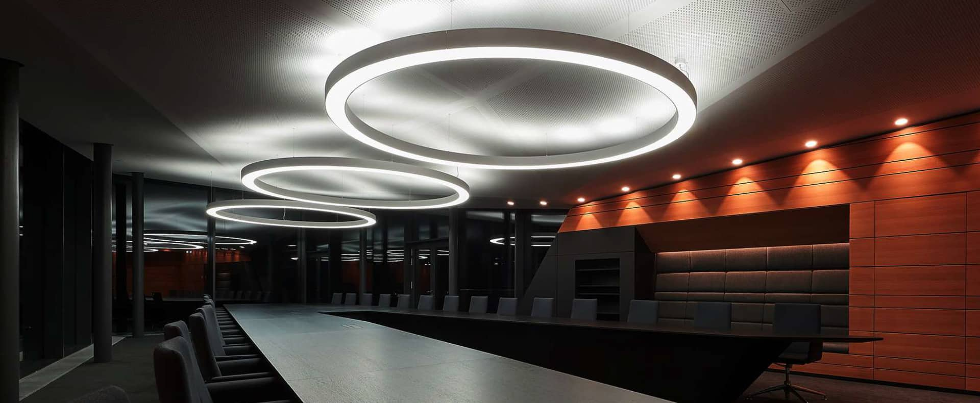 Circular Linear Lighting