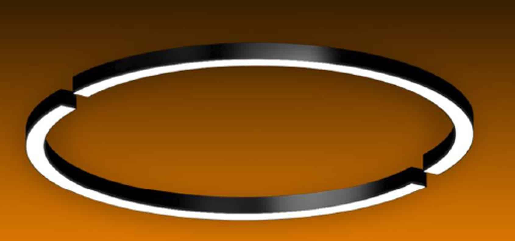 Custom Linear 2Pc Circular