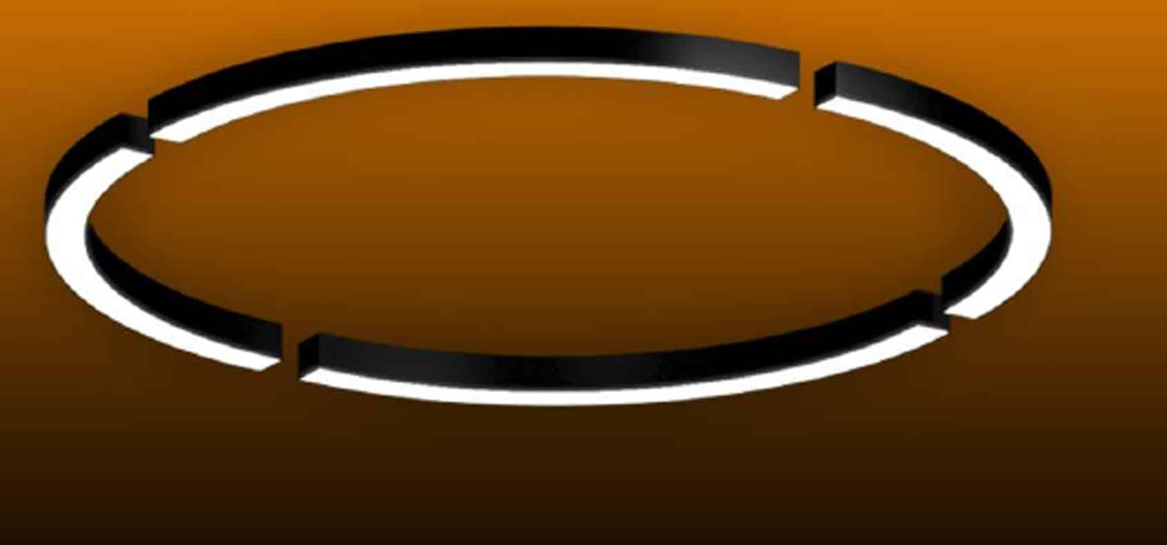 Custom Linear 4Pc Circular