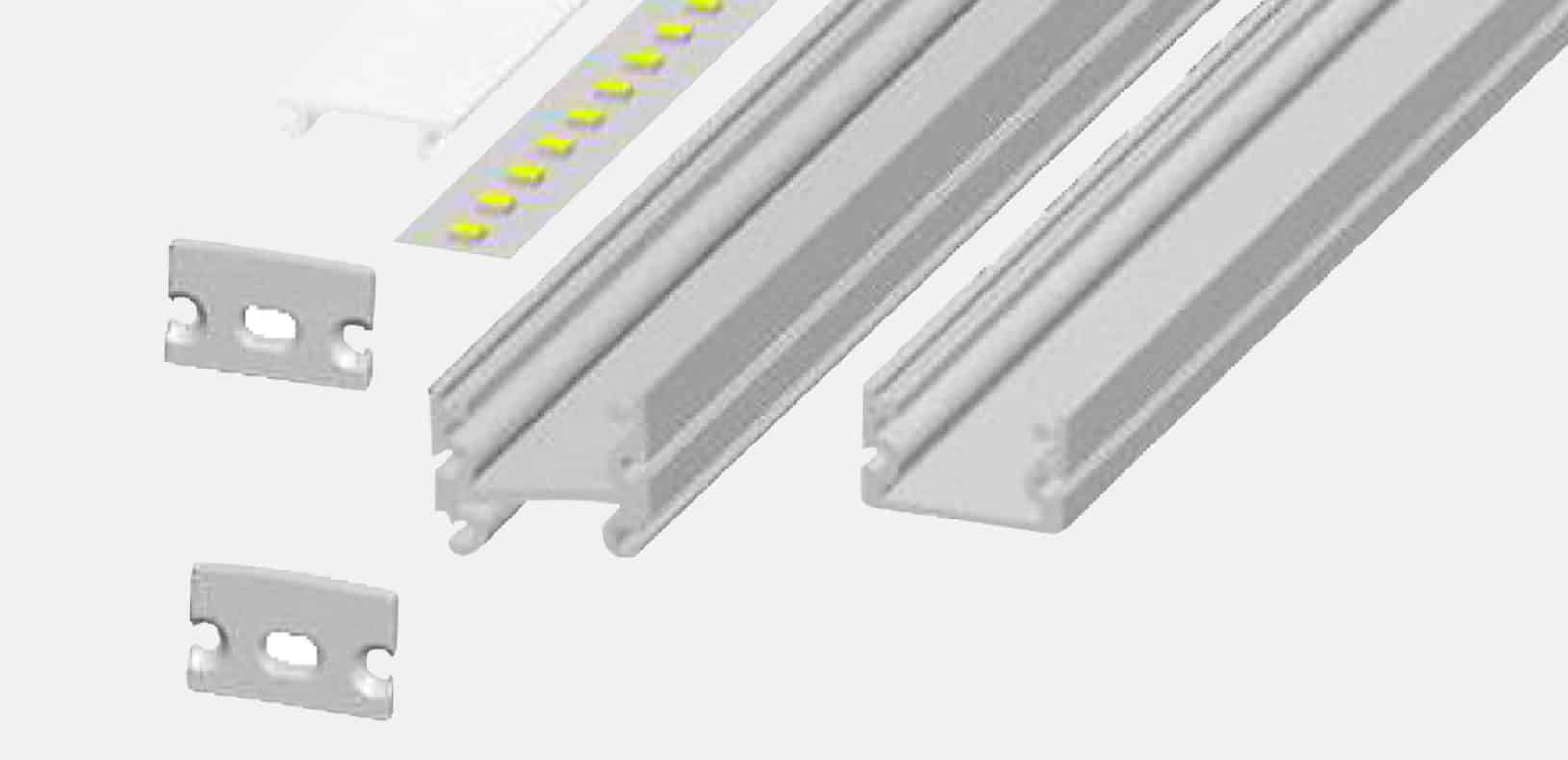 LED Aluminium Profile - Free Assemble LED Profile - LF2222