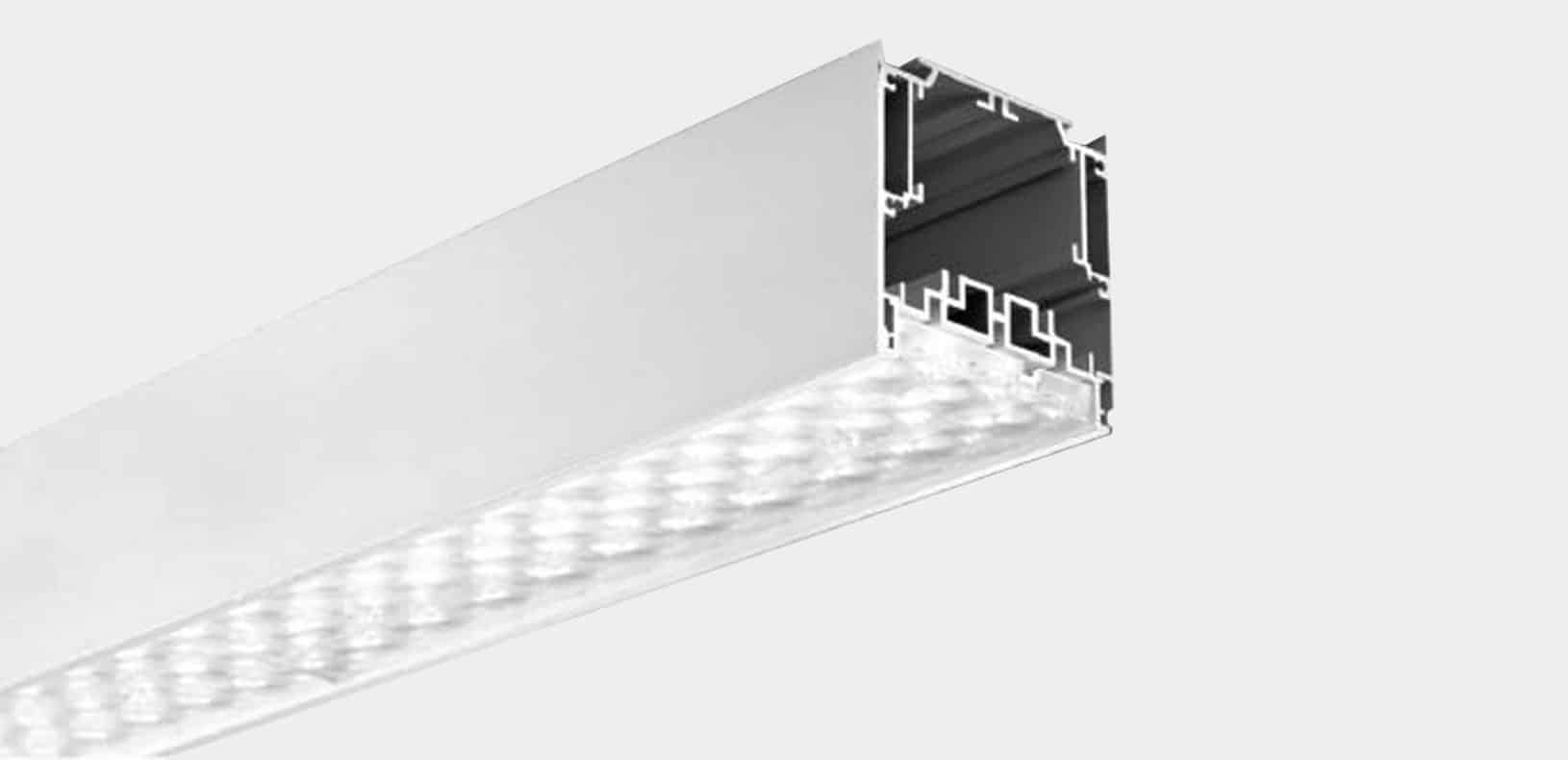 LED Aluminium Profile - Lensed Profile - ALP7575-RL