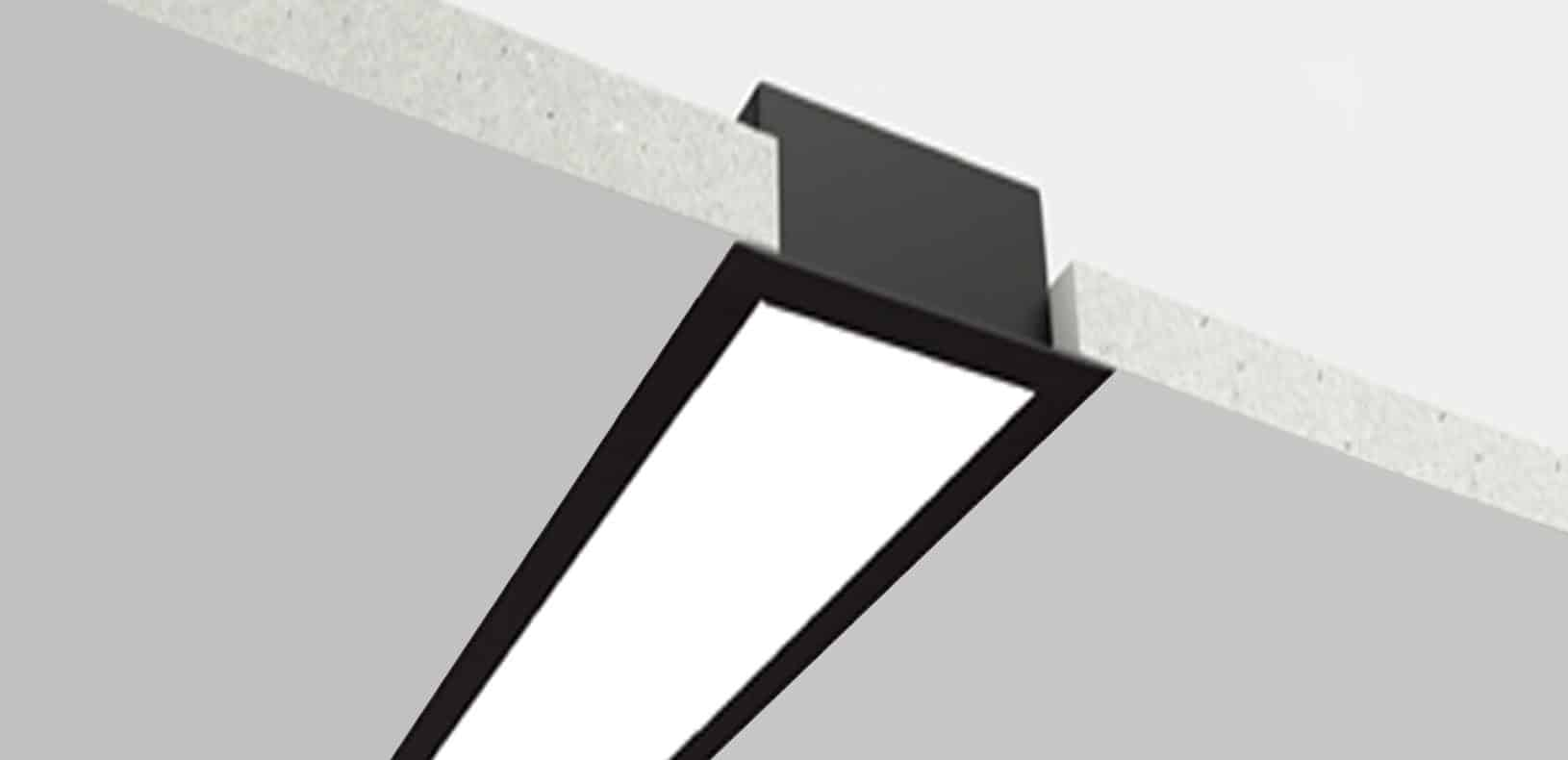 LED Aluminium Profile - Smart Linear Lighting System - LS17032S
