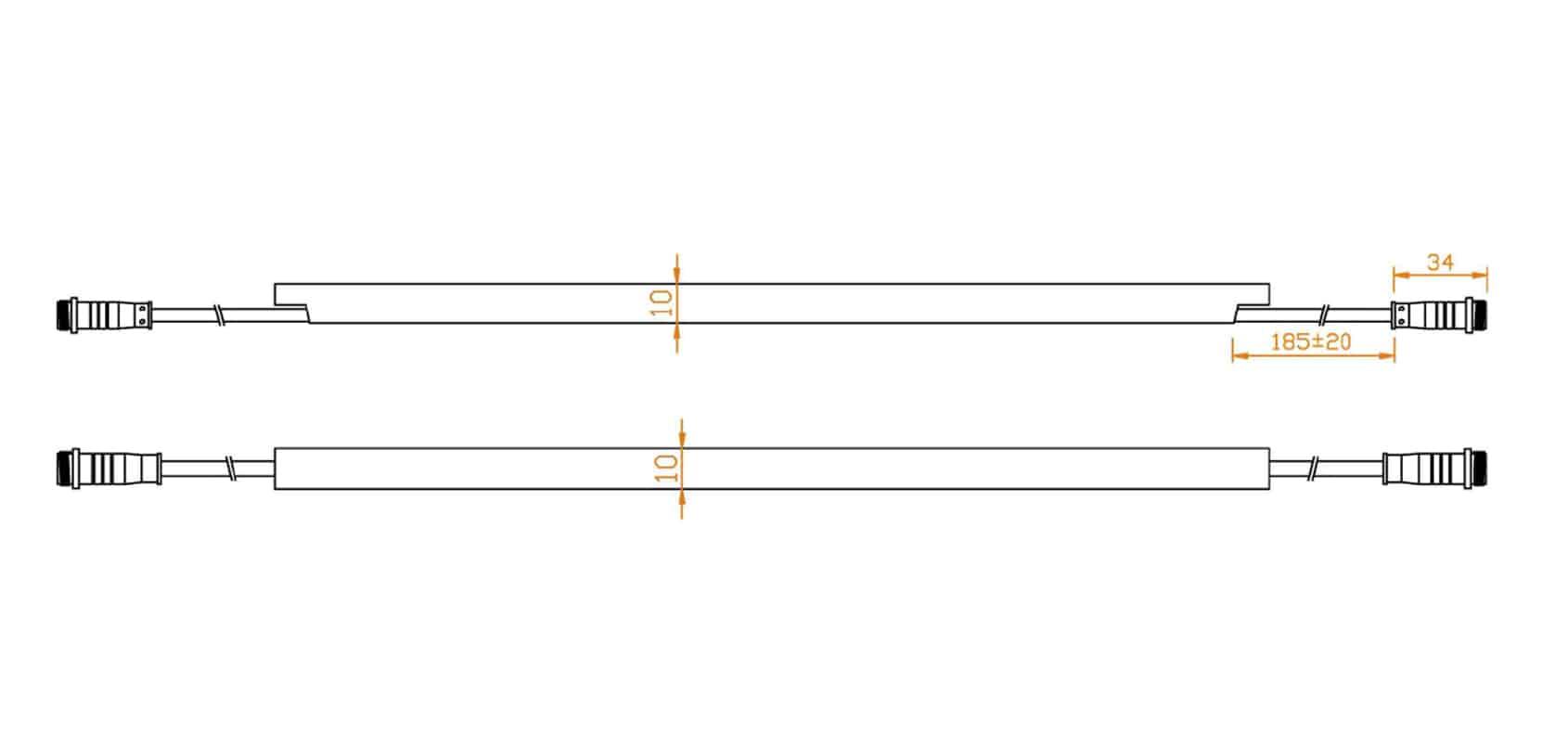 Neon Flex LED Trio