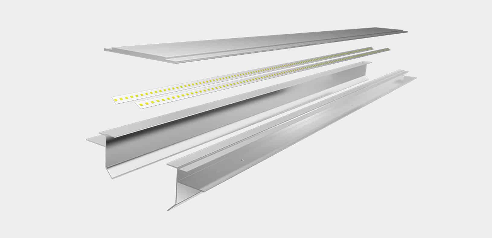 LED ALuminium Profile - Decorative LED Profile - LD5452