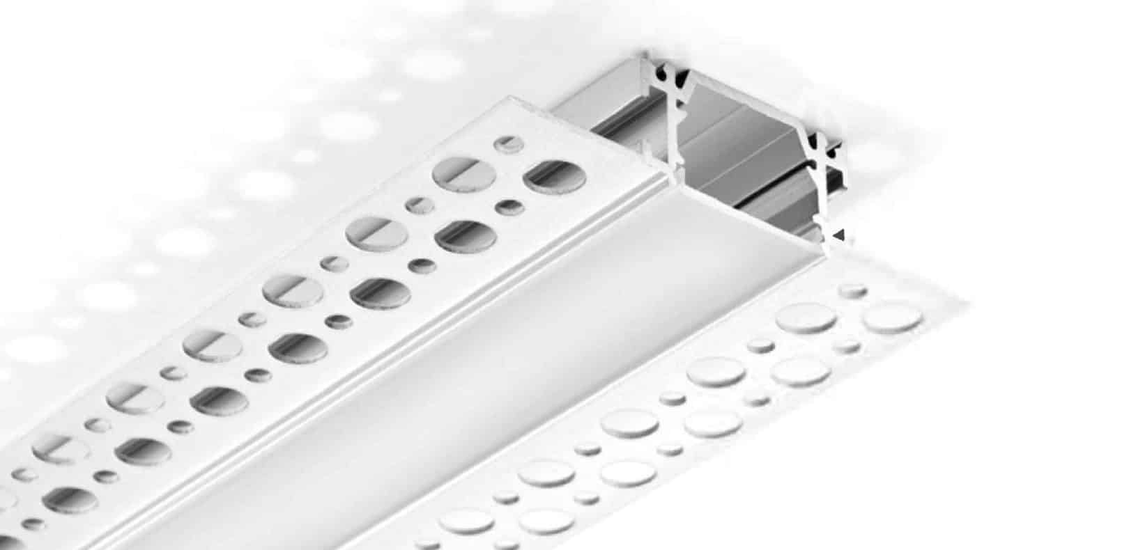 LED Aluminium Profile - Drywall LED Profile - ALP080