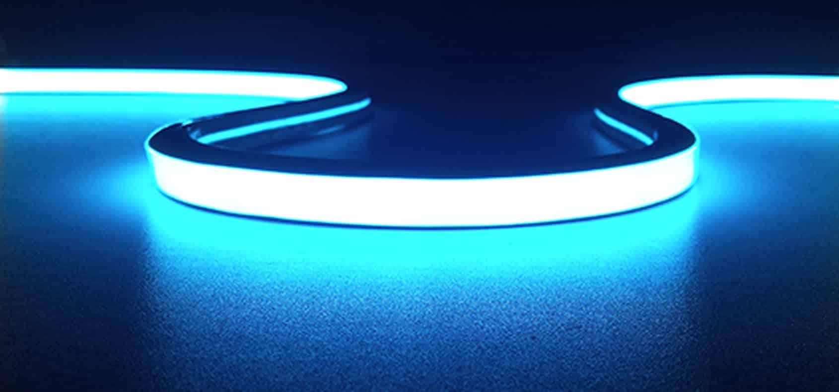 Neon-Flex-Slim Top Bend - 9.4x10mm - Tunable & RGB - Img