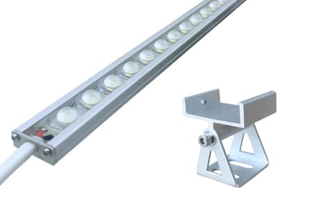 Wall Washer Mini with SMD5630/5050 LED, single/RGB/RGBW color, 4.3W-34.4W/m, easy installation, multiple beam angle, IP66 Protected & CRI>80+