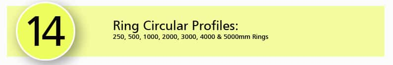 14. Ring Circular Profiles